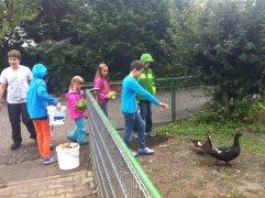 1. Paten-Nachmittag im Vogelpark