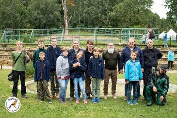 Ausflug der Jugendgruppe zur Zoo-Falknerei Neunkirchen
