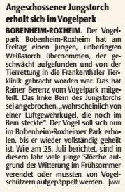 Die RheinPfalz,  18. August 2016