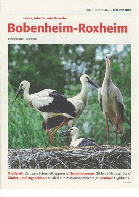 Der Vogelpark Bobenheim-Roxheim in der Rheinpfalz März '13