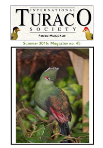 Ausgabe 45 der International Turaco Society