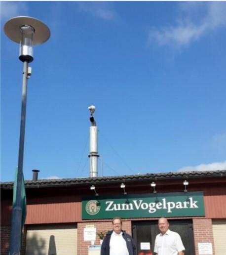Beleuchtung im Vogelpark wird erneuert