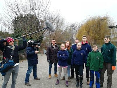 Der Vogelpark im Fernsehen bei RON-TV