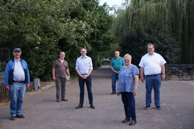 Martin Haller (SPD) zu Besuch im Vogelpark