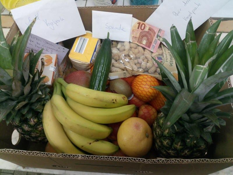 Obst Spende