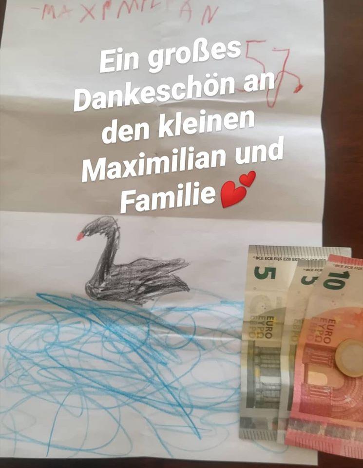Schwan Spende