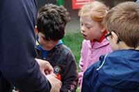 Besuch der Unterstufe der Tom-Mutters-Schule in Frankenthal